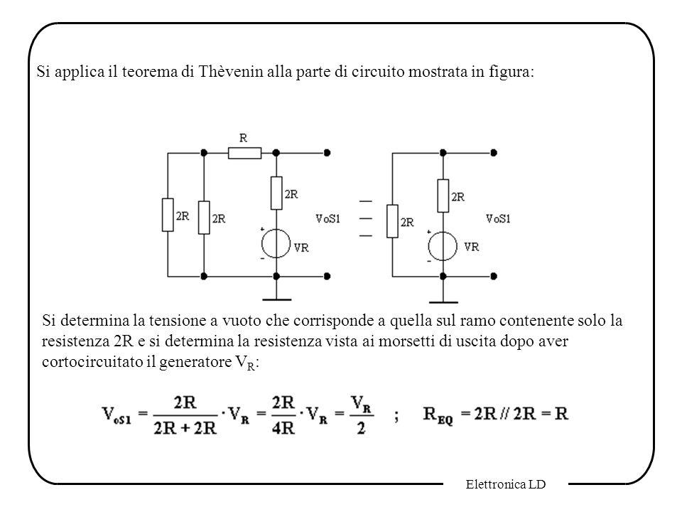 Si applica il teorema di Thèvenin alla parte di circuito mostrata in figura:
