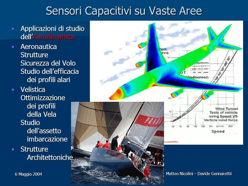 Sensori Capacitivi su Vaste Aree