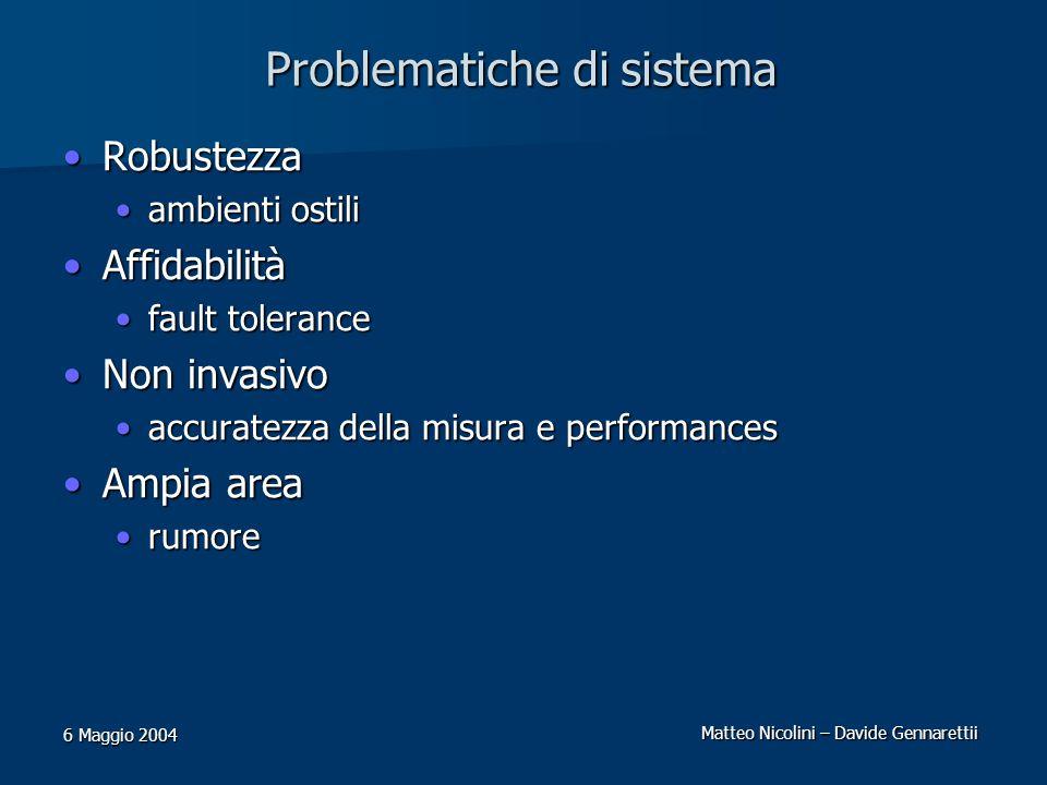 Problematiche di sistema