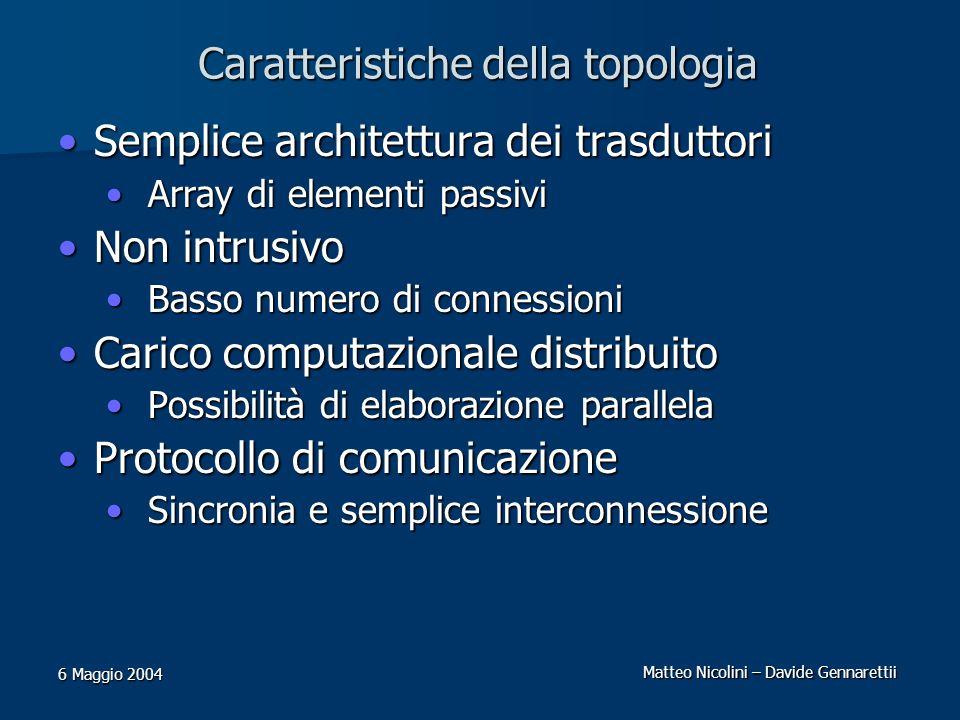 Caratteristiche della topologia