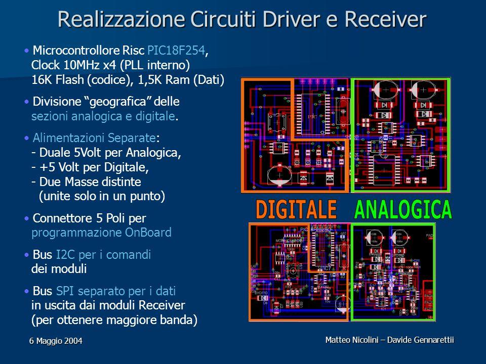Realizzazione Circuiti Driver e Receiver
