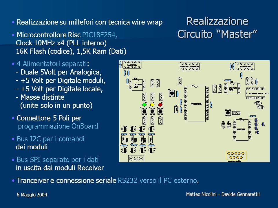 Realizzazione Circuito Master