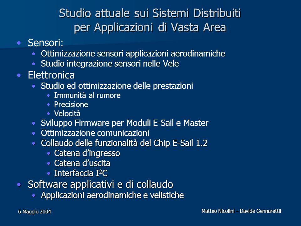 Studio attuale sui Sistemi Distribuiti per Applicazioni di Vasta Area