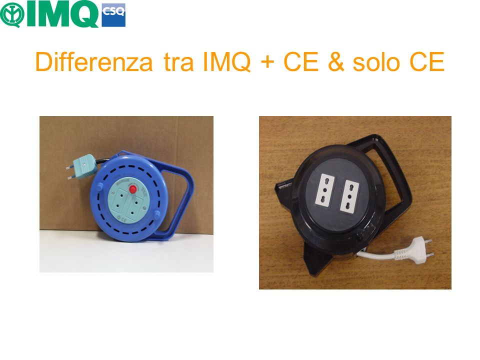 Differenza tra IMQ + CE & solo CE