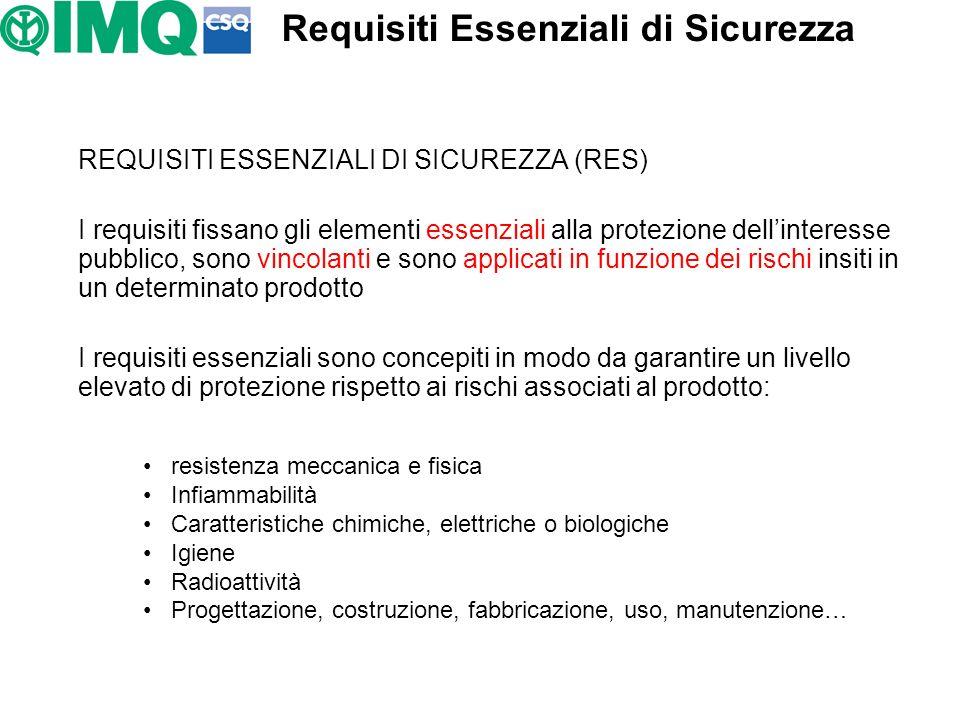 Requisiti Essenziali di Sicurezza