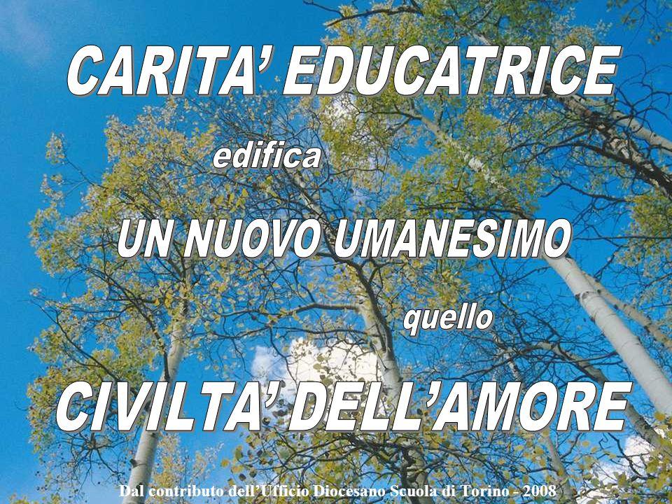 Dal contributo dell'Ufficio Diocesano Scuola di Torino - 2008