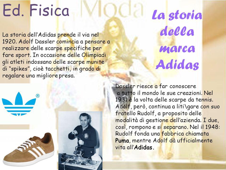 La storia della marca Adidas