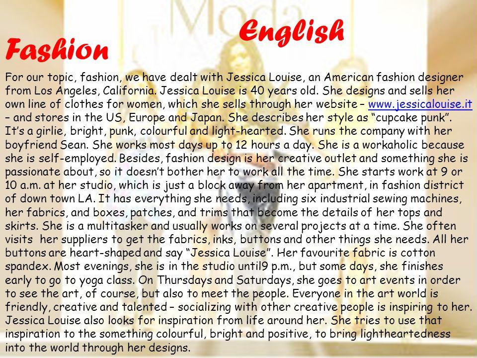 English Fashion.