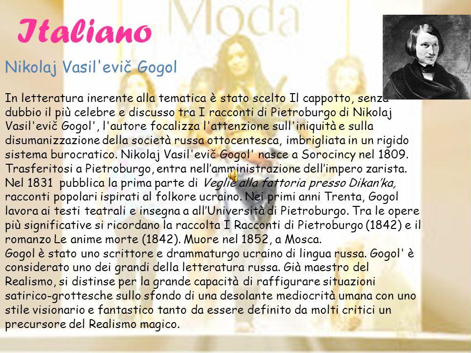 Italiano Nikolaj Vasil evič Gogol