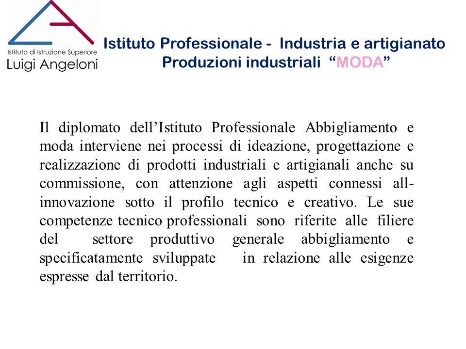Istituto Professionale - Industria e artigianato