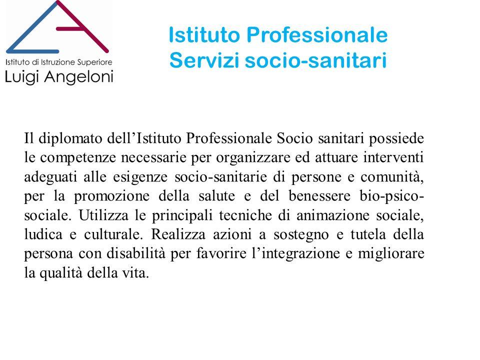 Istituto Professionale Servizi socio-sanitari