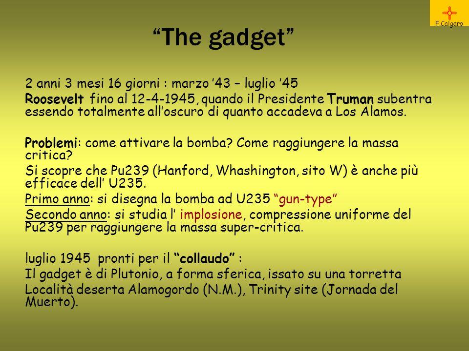 The gadget 2 anni 3 mesi 16 giorni : marzo '43 – luglio '45