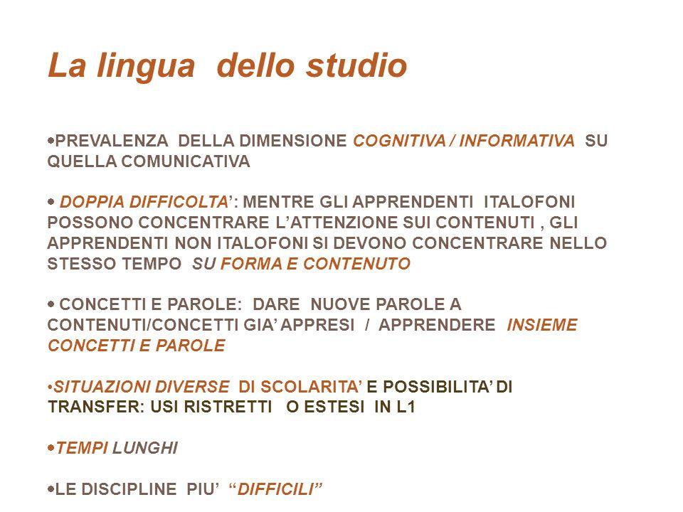 La lingua dello studio studio TR LO STUDIO