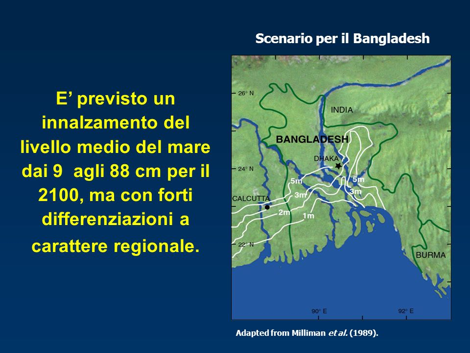 Scenario per il Bangladesh