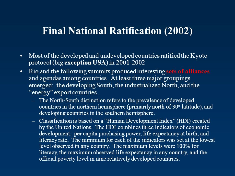 Final National Ratification (2002)