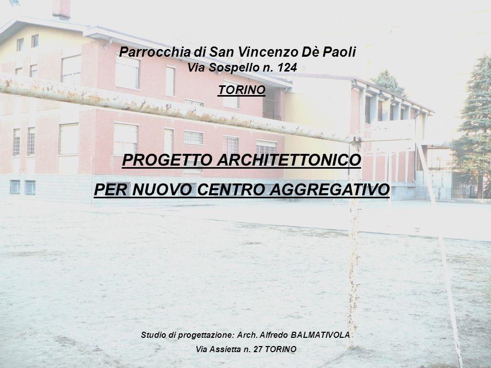 PROGETTO ARCHITETTONICO PER NUOVO CENTRO AGGREGATIVO
