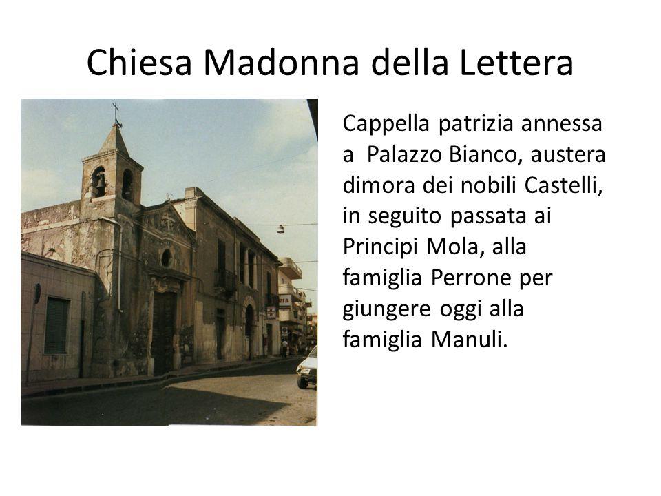 Chiesa Madonna della Lettera