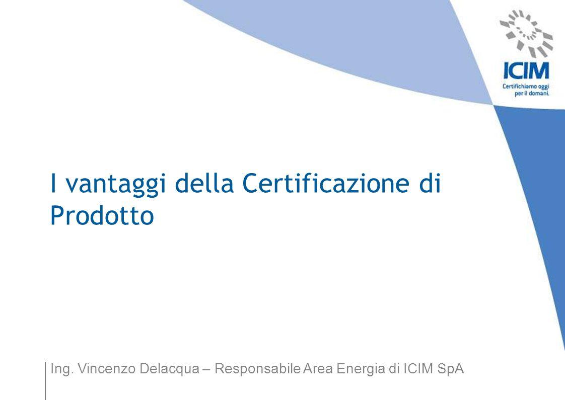 I vantaggi della Certificazione di Prodotto