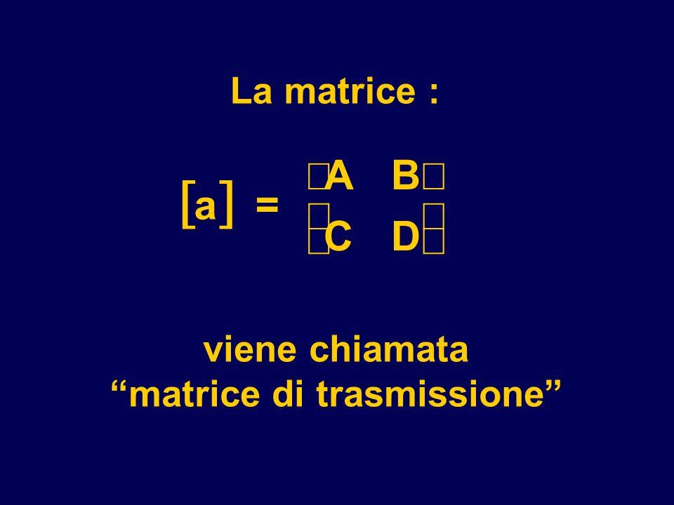 matrice di trasmissione