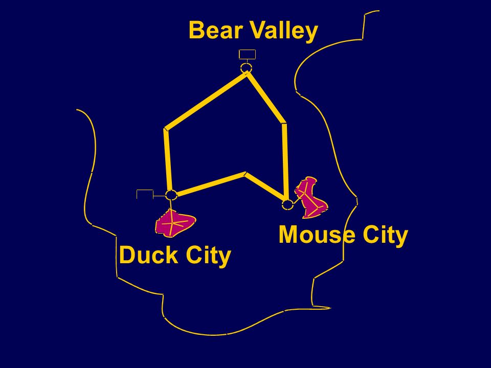 Bear Valley Mouse City Duck City