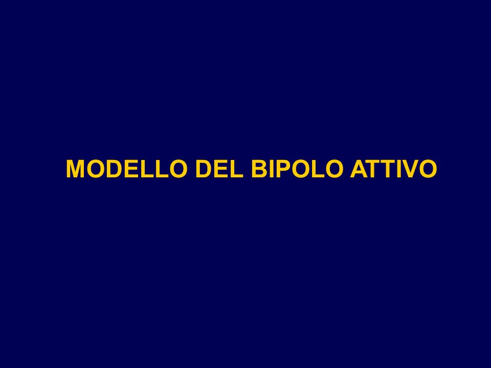 MODELLO DEL BIPOLO ATTIVO