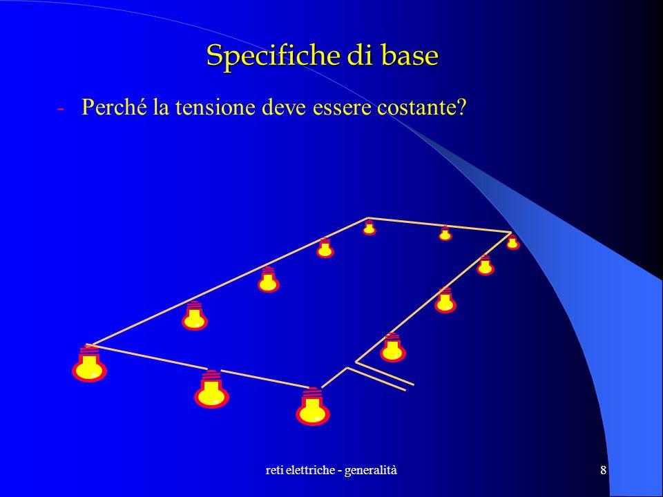 reti elettriche - generalità