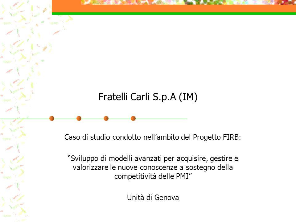 Fratelli Carli S.p.A (IM)