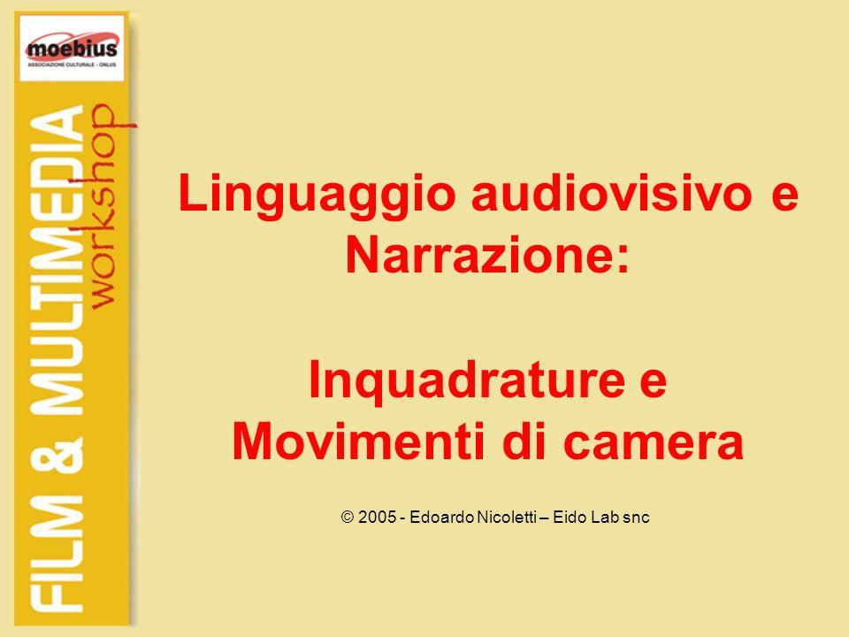 Linguaggio audiovisivo e Narrazione: