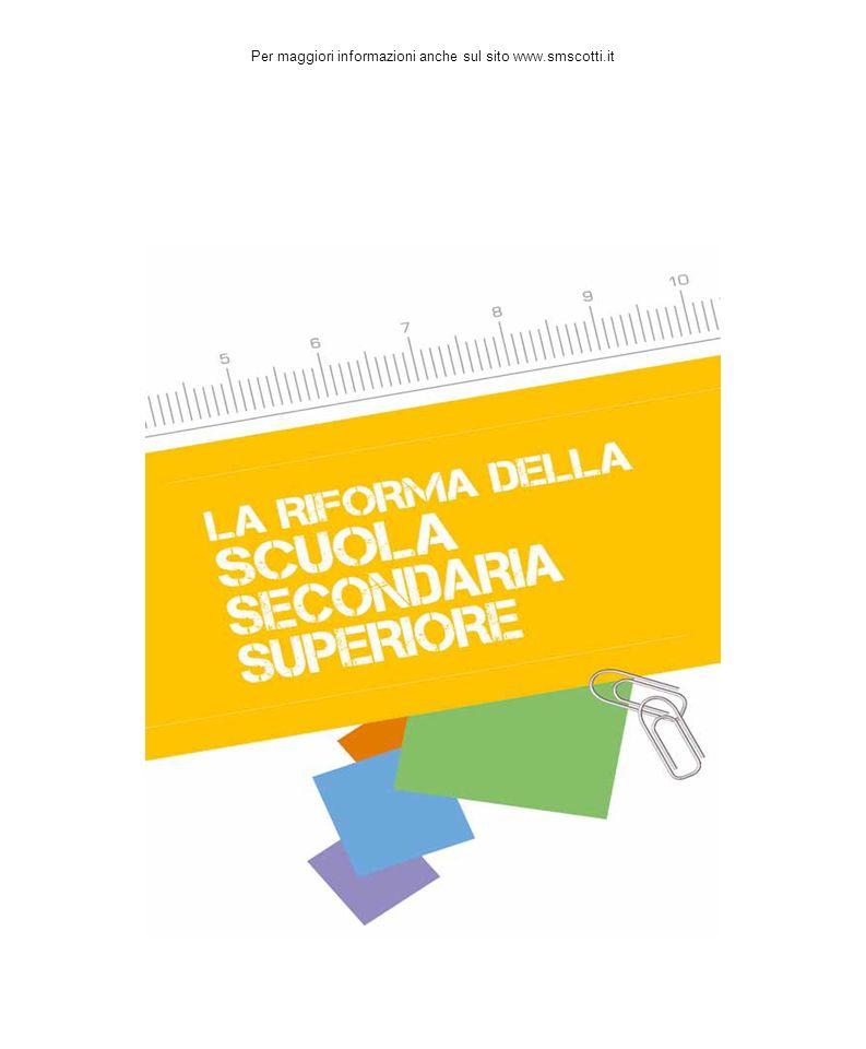 Per maggiori informazioni anche sul sito www.smscotti.it