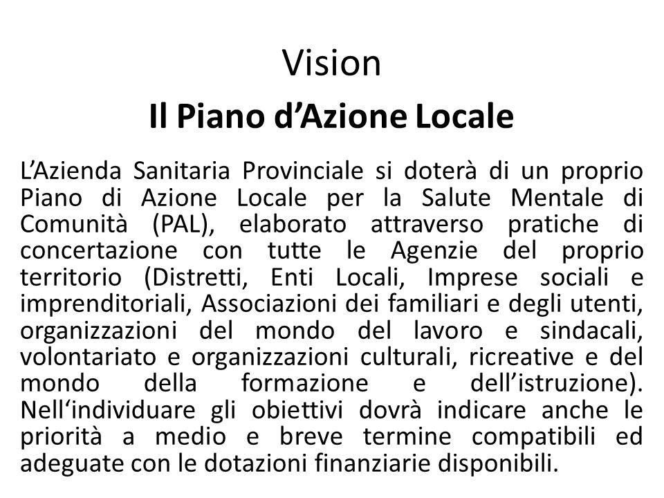 Il Piano d'Azione Locale
