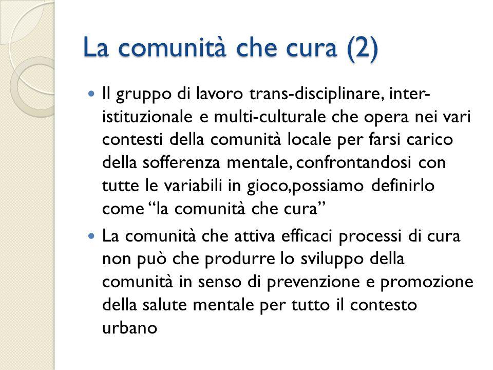 La comunità che cura (2)