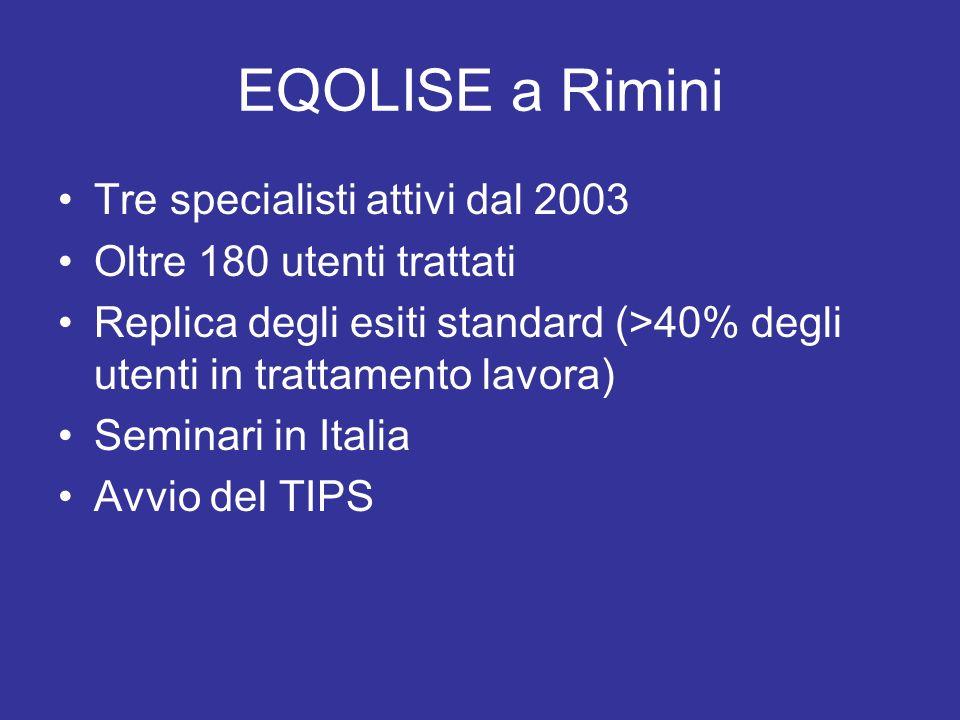 EQOLISE a Rimini Tre specialisti attivi dal 2003