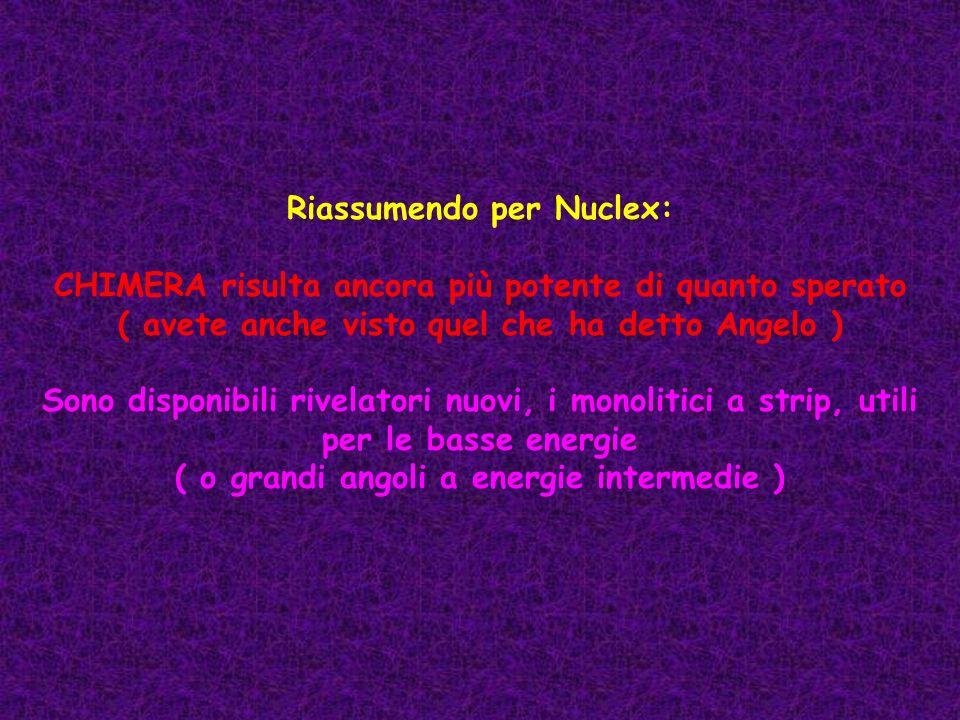 Riassumendo per Nuclex: