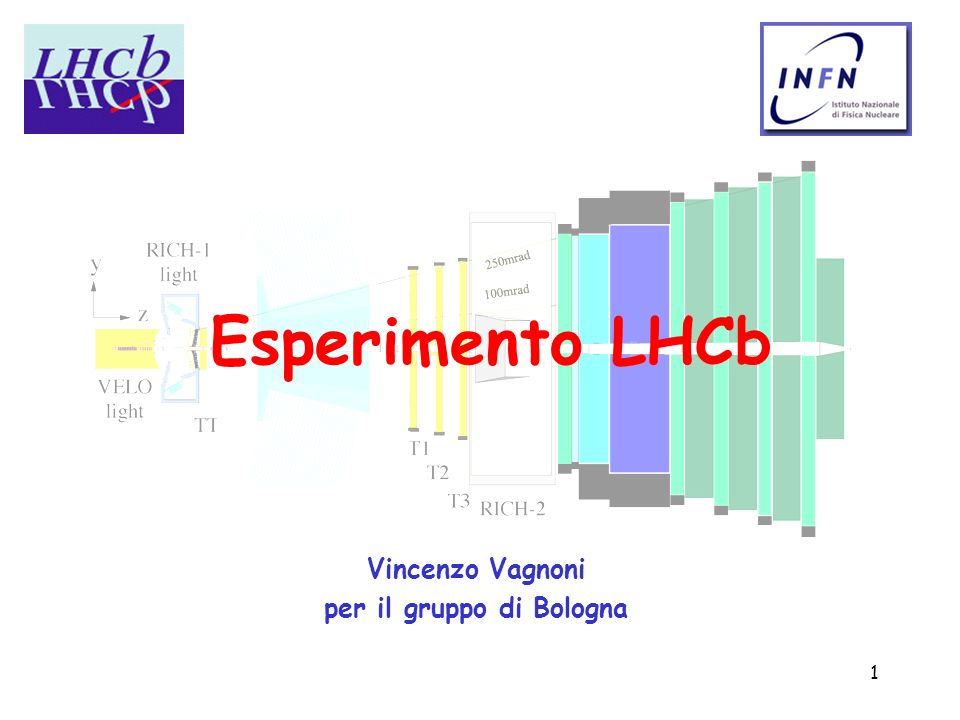 Vincenzo Vagnoni per il gruppo di Bologna