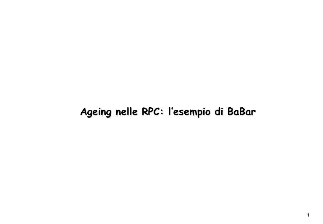 Ageing nelle RPC: l'esempio di BaBar