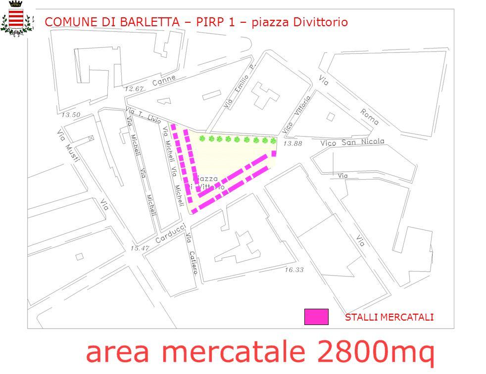 COMUNE DI BARLETTA – PIRP 1 – piazza Divittorio
