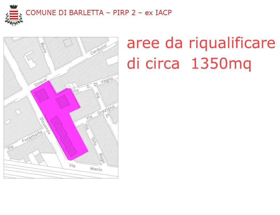 COMUNE DI BARLETTA – PIRP 2 – ex IACP