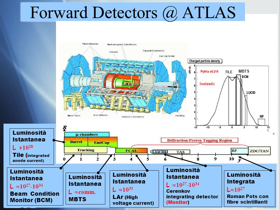 Forward Detectors @ ATLAS