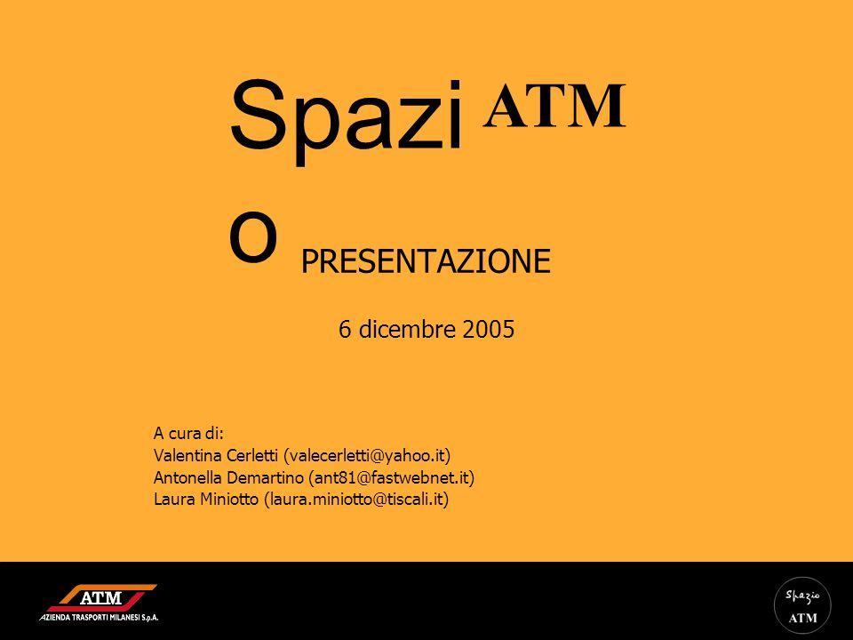 PRESENTAZIONE 6 dicembre 2005