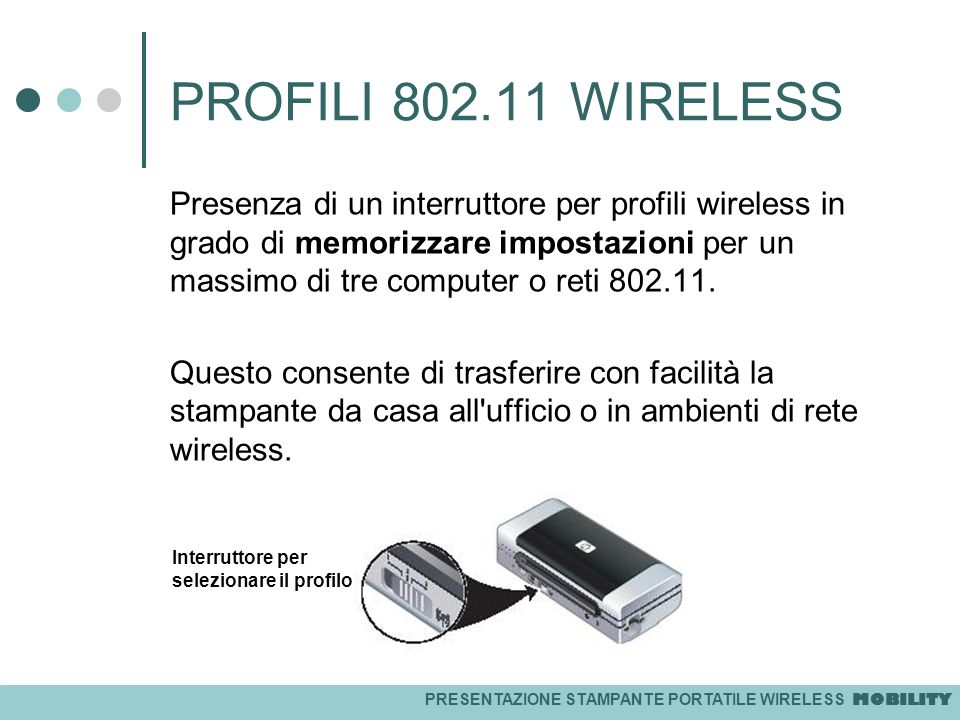 PROFILI 802.11 WIRELESS