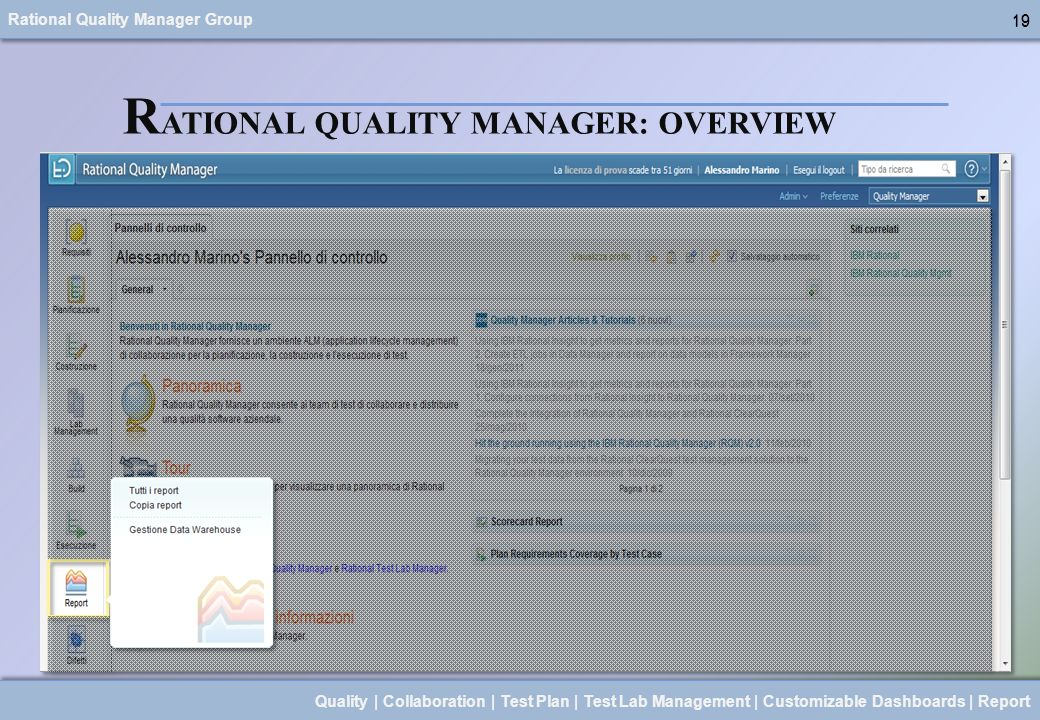RATIONAL QUALITY MANAGER: OVERVIEW