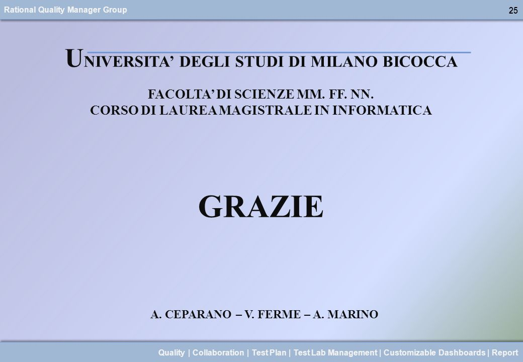 A. CEPARANO – V. FERME – A. MARINO