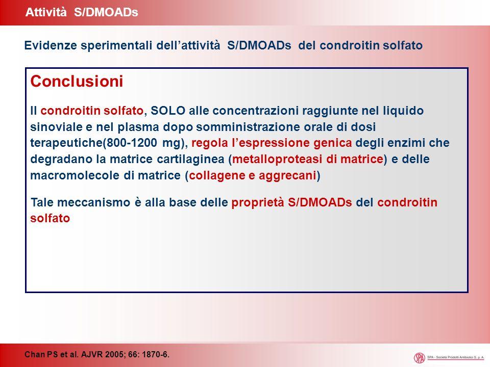 Conclusioni Attività S/DMOADs