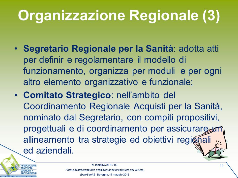 Organizzazione Regionale (3)