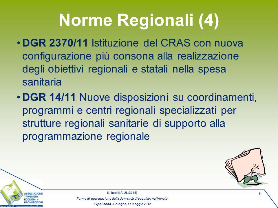 Norme Regionali (4)
