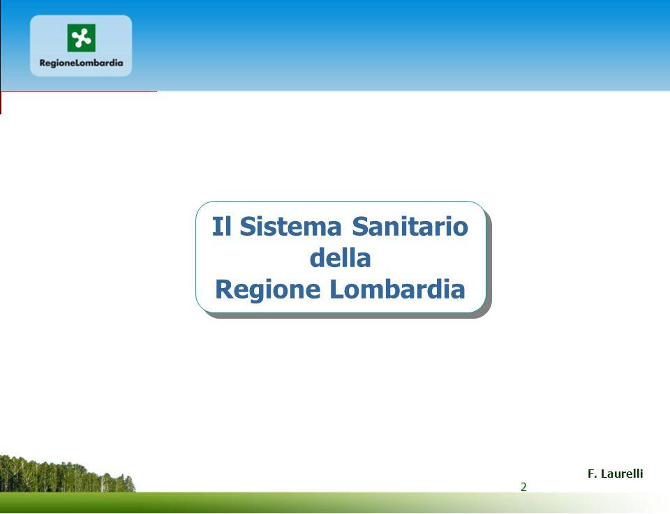 Il Sistema Sanitario della Regione Lombardia