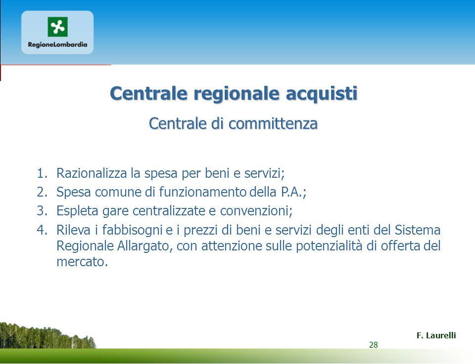 Centrale regionale acquisti