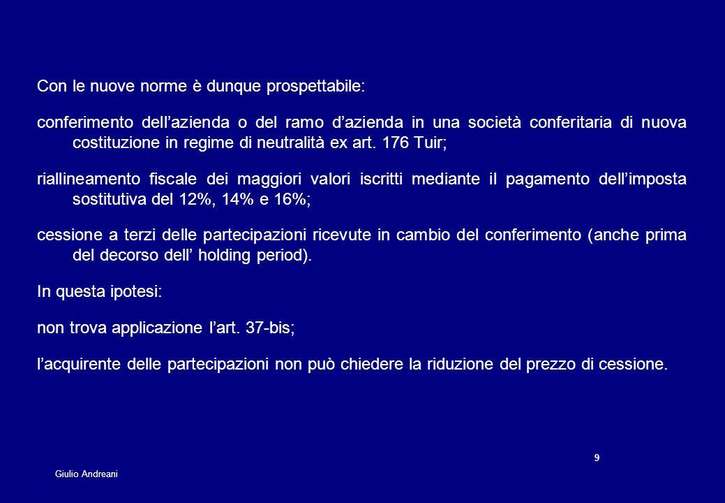 Le opportunit di pianificazione fiscale ppt scaricare - Art 16 bis del tuir ...
