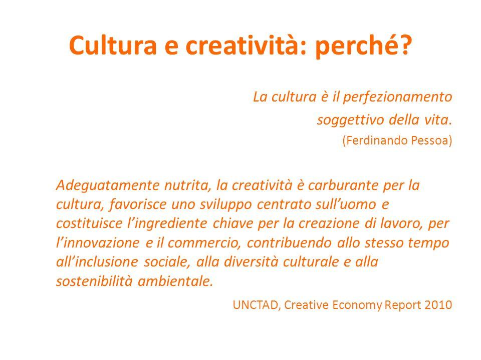 Cultura e creatività: perché
