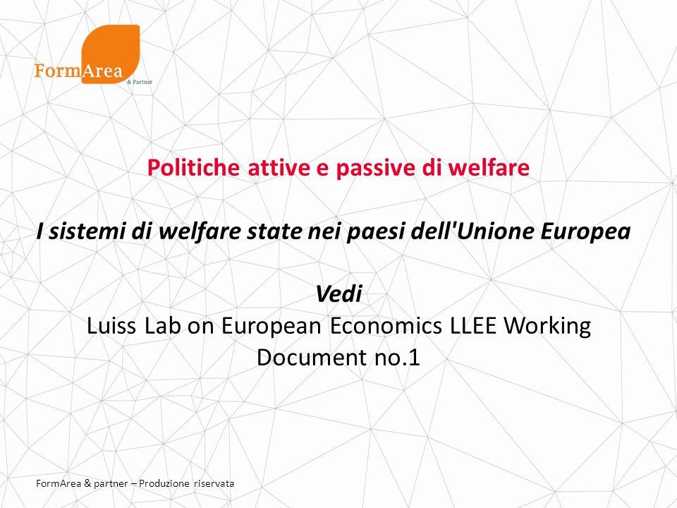 Politiche attive e passive di welfare